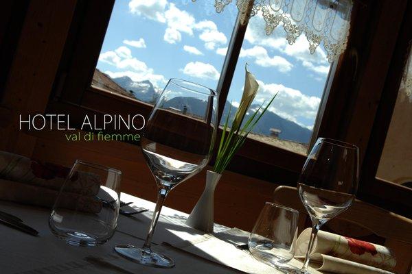 Il ristorante Varena Alpino