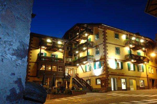 Foto estiva di presentazione Hotel Alpino