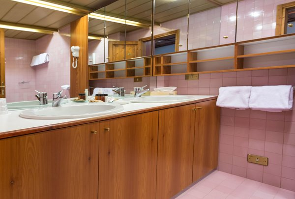 Foto del bagno Hotel Mirage