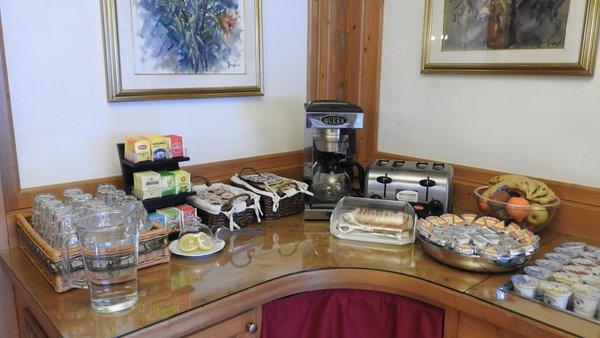 La colazione Hotel Des Alpes