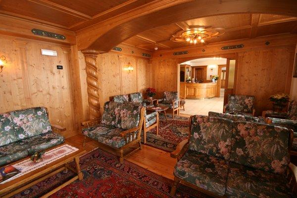 Die Gemeinschaftsräume Hotel Des Alpes