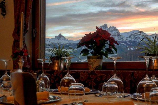 Das Restaurant Cortina d'Ampezzo Des Alpes