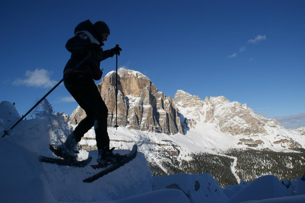 Winter activities Cortina and surroundings