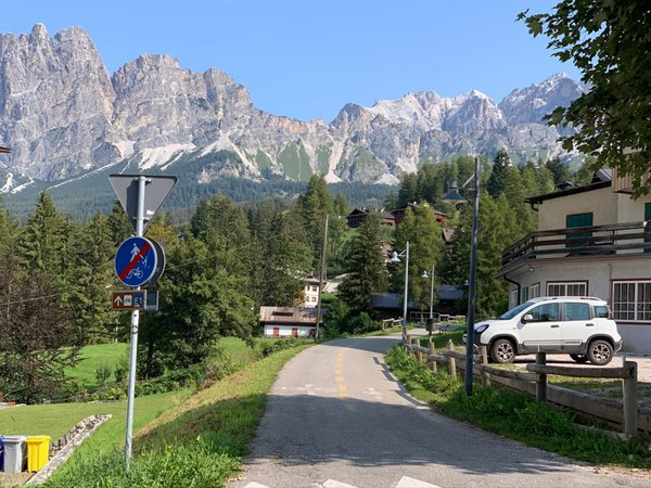 Lage Hotel Serena Cortina Cortina d'Ampezzo