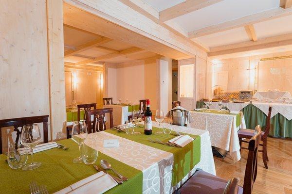 The restaurant Cortina d'Ampezzo Serena Cortina