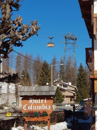 Foto di alcuni dettagli Columbia