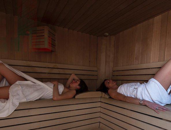 Foto della sauna Cortina d'Ampezzo