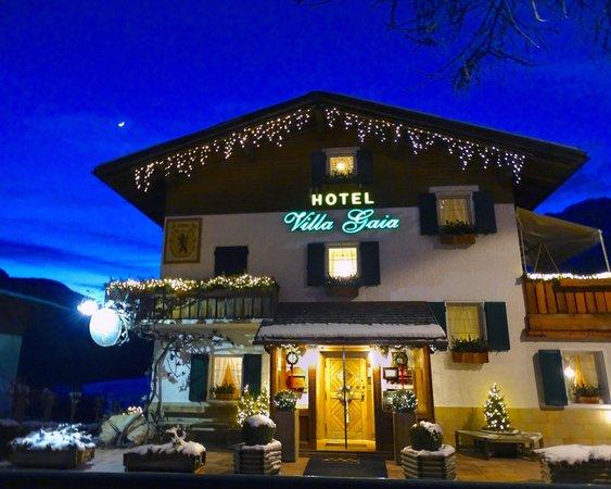 Foto esterno in inverno Villa Gaia