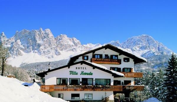Winter presentation photo Meublé Villa Nevada