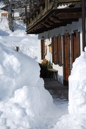 Foto esterno in inverno Oltres