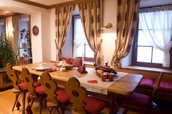 The restaurant Cortina d'Ampezzo Oltres