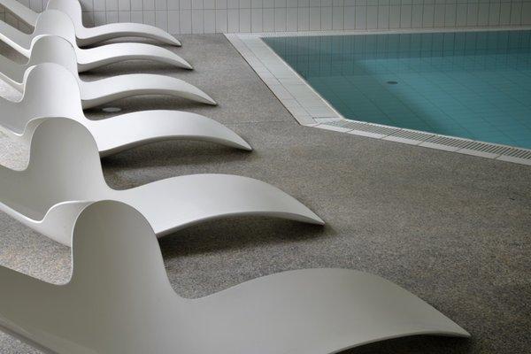 La piscina Parkhotel Sole Paradiso