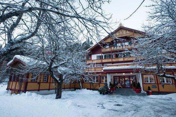 Foto invernale di presentazione Parkhotel Sole Paradiso