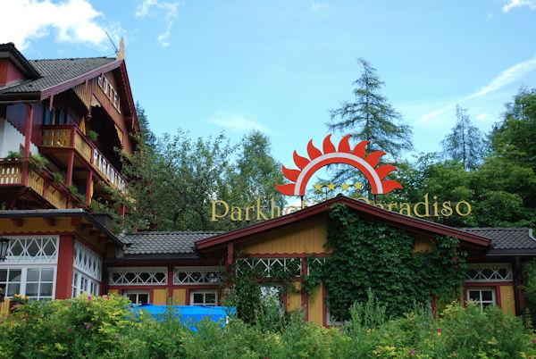 Foto esterno in estate Parkhotel Sole Paradiso