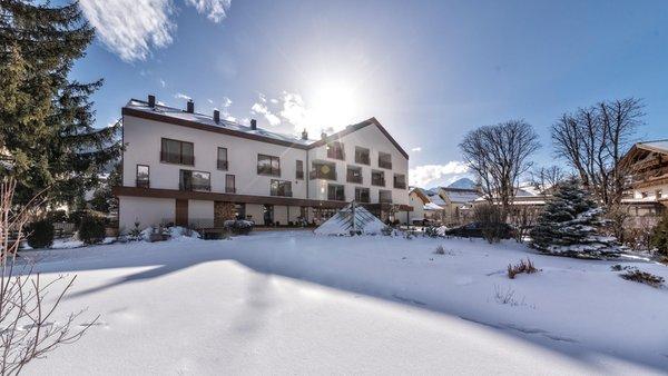 Foto invernale di presentazione Sporthotel Tyrol Dolomites - Hotel 4 stelle