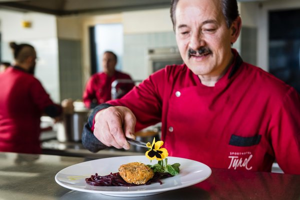 Il ristorante San Candido Sporthotel Tyrol Dolomites
