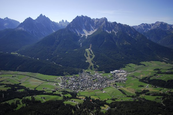 Panoramic view San Candido / Innichen