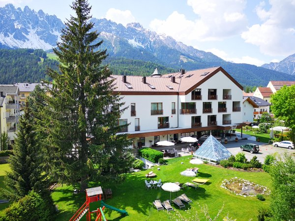 Summer presentation photo Sporthotel Tyrol Dolomites