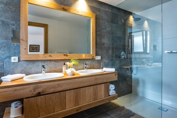 Photo of the bathroom Sporthotel Tyrol Dolomites