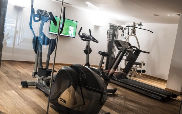 Foto vom Fitness-Bereich Sporthotel Tyrol Dolomites