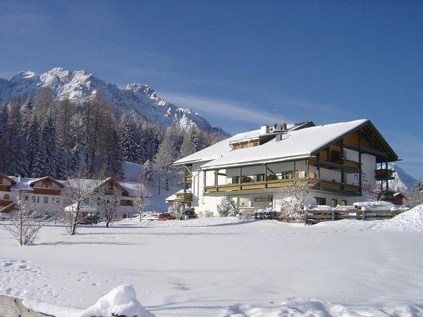 Foto invernale di presentazione Brandl - Hotel 3 stelle sup.