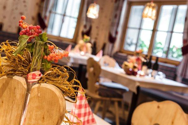 Das Restaurant Obervierschach (Innichen) Helmhotel