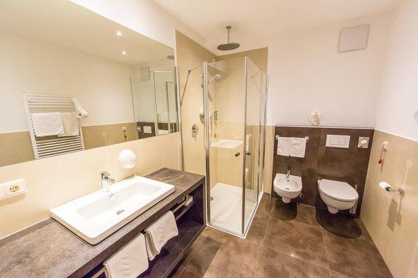 Foto del bagno Hotel Villa Waldheim