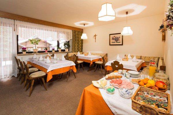 Das Frühstück Bed & Breakfast Ciasa Iris