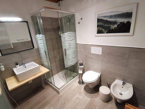 Foto del bagno Hotel Almhof