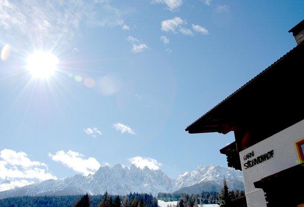 Foto esterno in inverno Siebnerhof