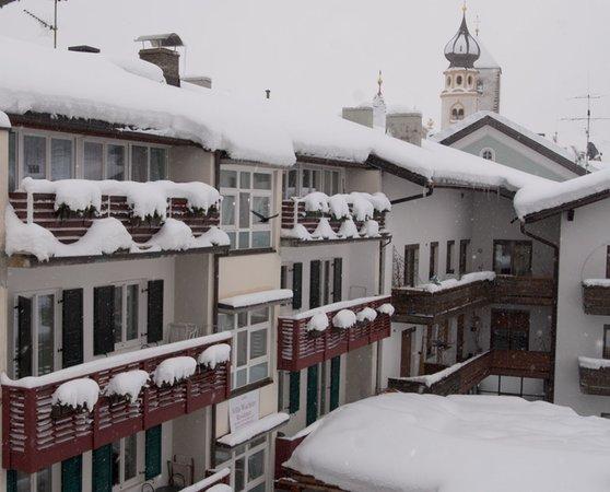 Foto invernale di presentazione Residence Wachtler