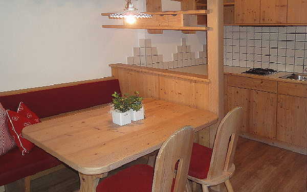 Foto der Küche Innerkofler