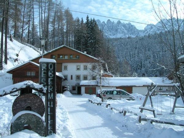 Foto invernale di presentazione Residence Obermüller