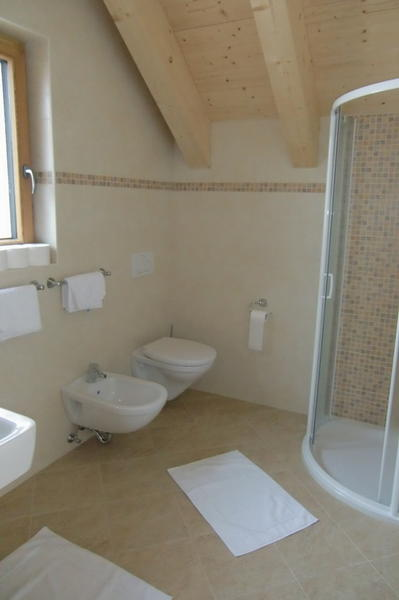 Photo of the bathroom Farmhouse apartments L'Sciadà