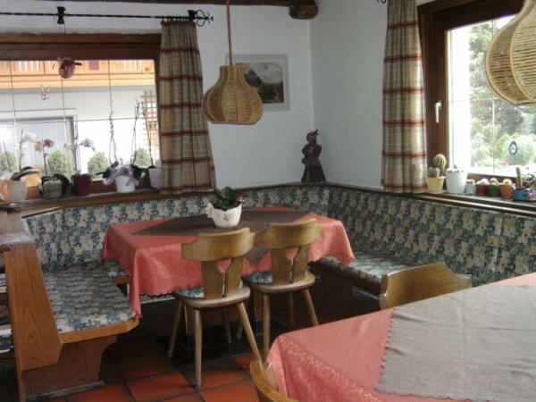 La zona giorno Haus Drau - Camere private con prima colazione 2 soli