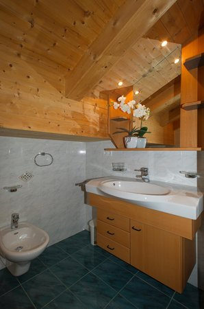 Photo of the bathroom Apartments Feichter Lercher Irma
