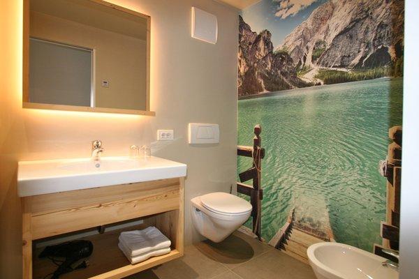 Foto del bagno Appartamenti Happacher