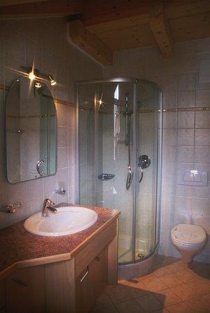 Foto del bagno Appartamenti Lercher Anna