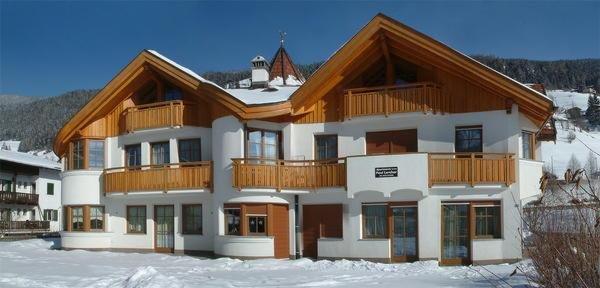 Foto invernale di presentazione Appartamenti Lercher Barbara
