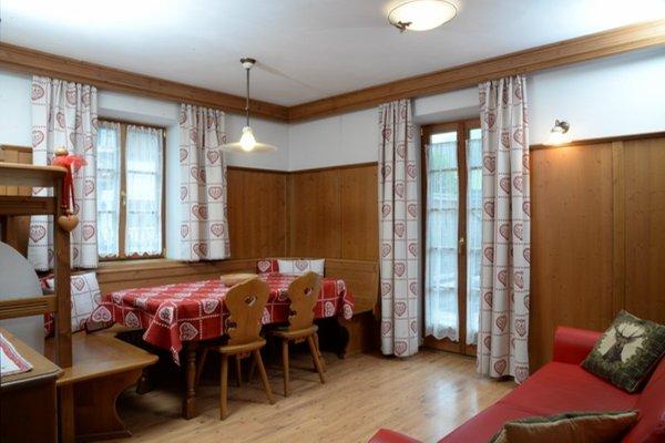 La zona giorno Pizach - Appartamenti 4 soli