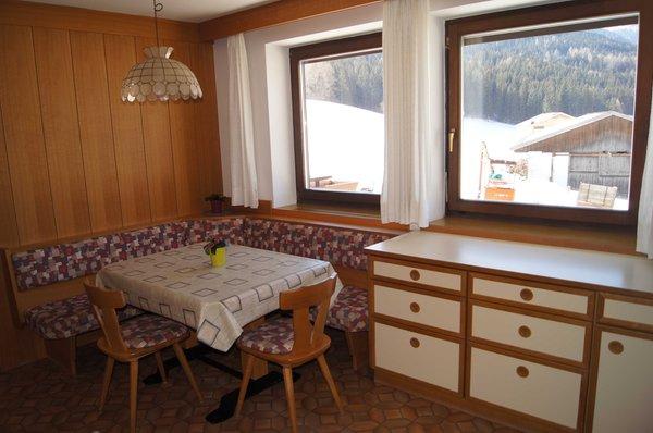 La zona giorno Rainer Gerlinde - Appartamenti 3 soli