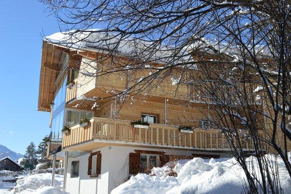 Foto invernale di presentazione Bachmann - Appartamenti 3 soli