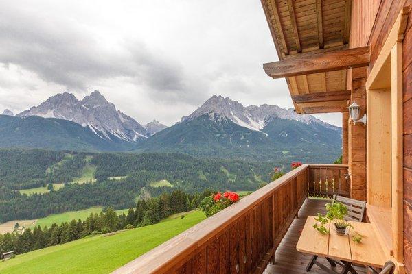 Foto vom Balkon Egarterhof