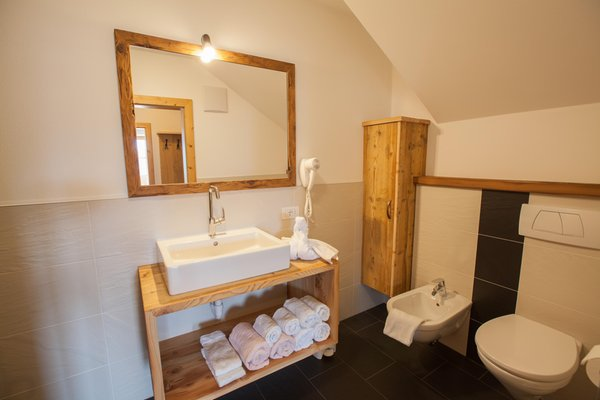 Photo of the bathroom Farmhouse apartments Egarterhof