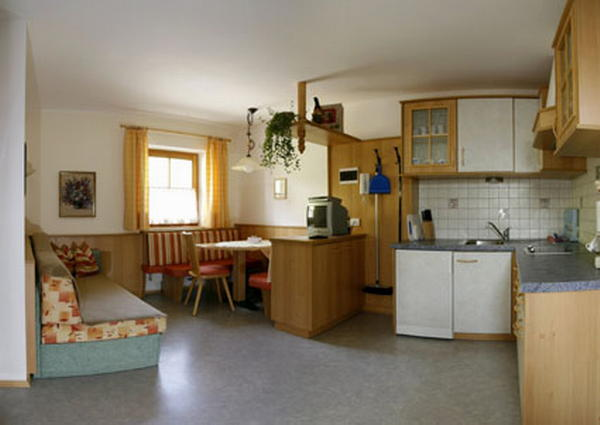 La zona giorno Galler am Berg - Appartamenti in agriturismo 3 fiori