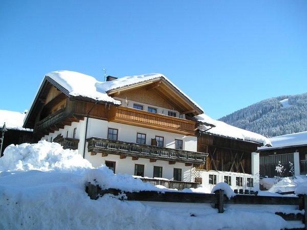 Foto invernale di presentazione Gallerhof Erika - Appartamenti in agriturismo 3 fiori