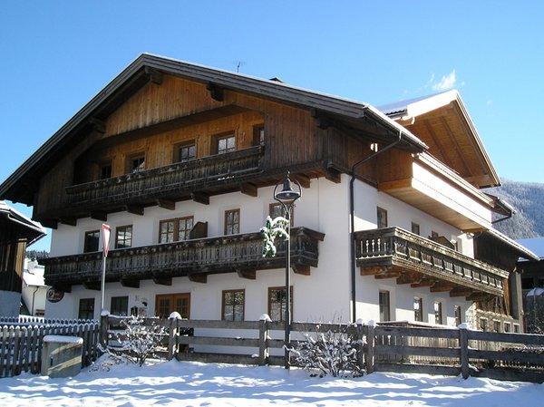 Foto esterno in inverno Gallerhof Erika