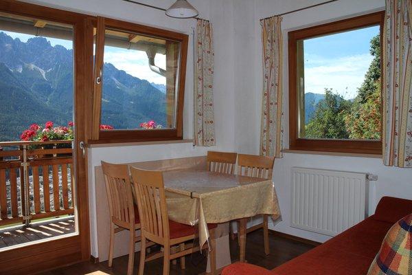 Der Wohnraum Pircherhof - Ferienwohnungen auf dem Bauernhof 3 Blumen