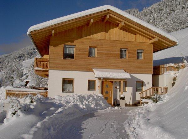 Foto invernale di presentazione Appartamenti in agriturismo Pircherhof