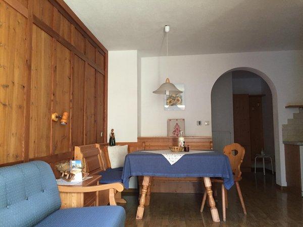 La zona giorno Schopferhof - Appartamenti in agriturismo 3 fiori